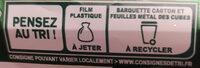 Apéricube Recettes aux herbes 48C - Instruction de recyclage et/ou informations d'emballage - fr