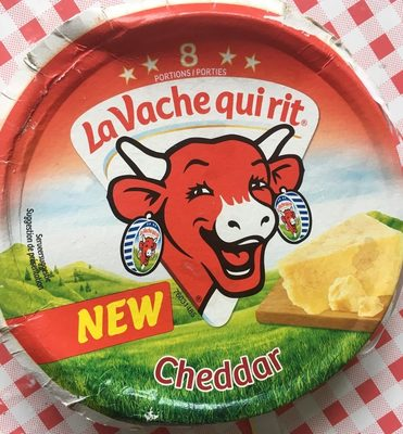 Laughing Cow Cheddar - Product - nl