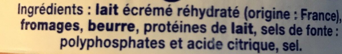 Fromage fondu Picon - Ingredients