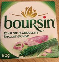 Boursin Échalote & Ciboulette - Product