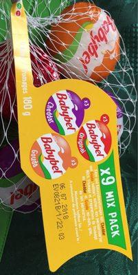 Babybel x9 mix pack - Produit