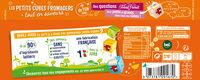 Apéricube Sélection du Fromager 48C - Informations nutritionnelles - fr