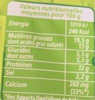 Apéricube Classic's de l'Apéro 48C - Nutrition facts - fr