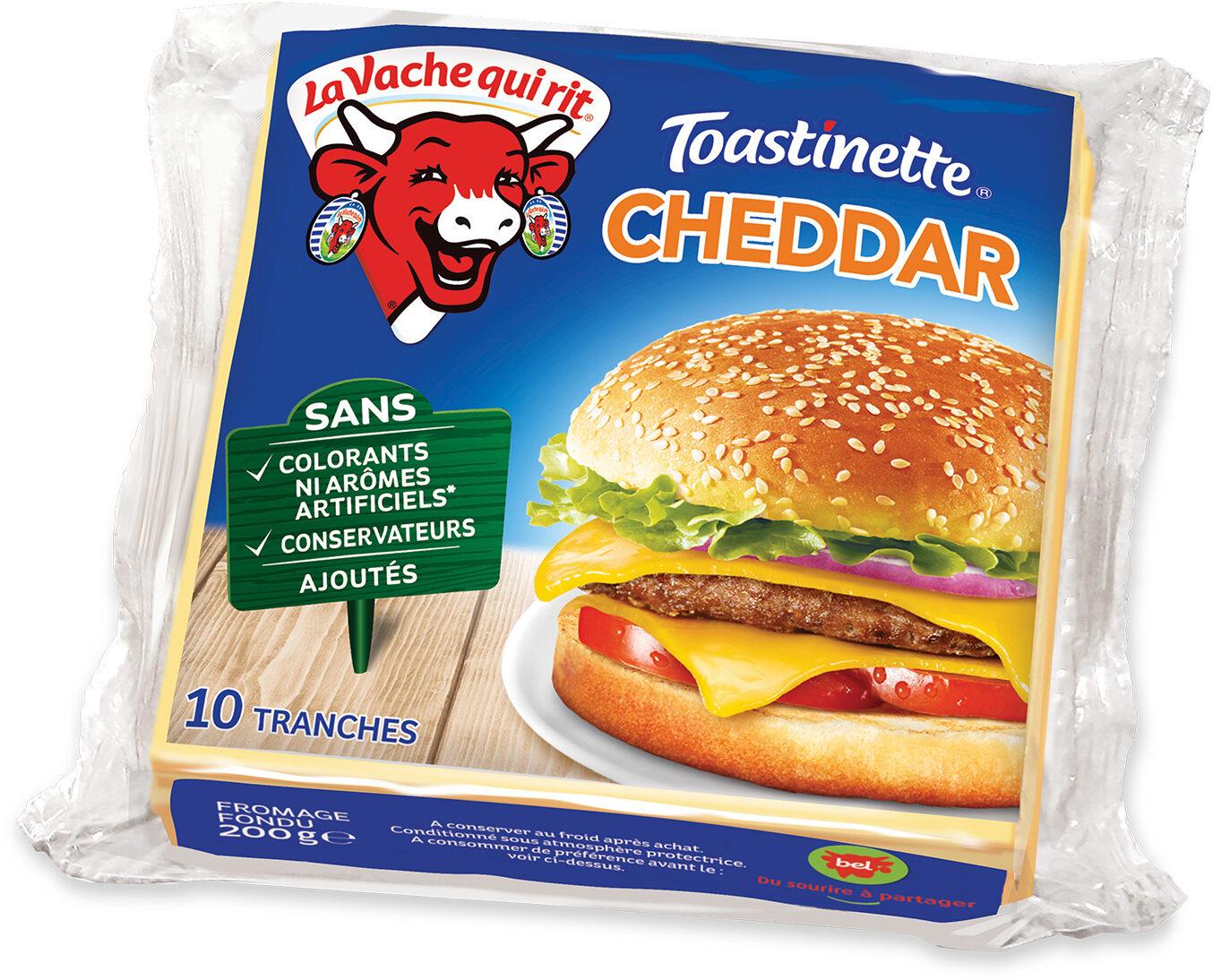 Toastinette cheddar 10 tranches - Prodotto - fr
