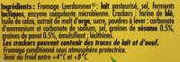 Leerdammer Break Crackers - Ingredienti - fr