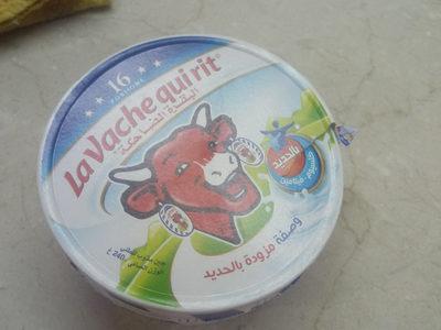 la vache qui rit - المكونات