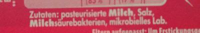 Mini Babybel - Ingrediënten - de