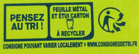 KIRI CREME - 8 portions - Recycling instructions and/or packaging information - fr