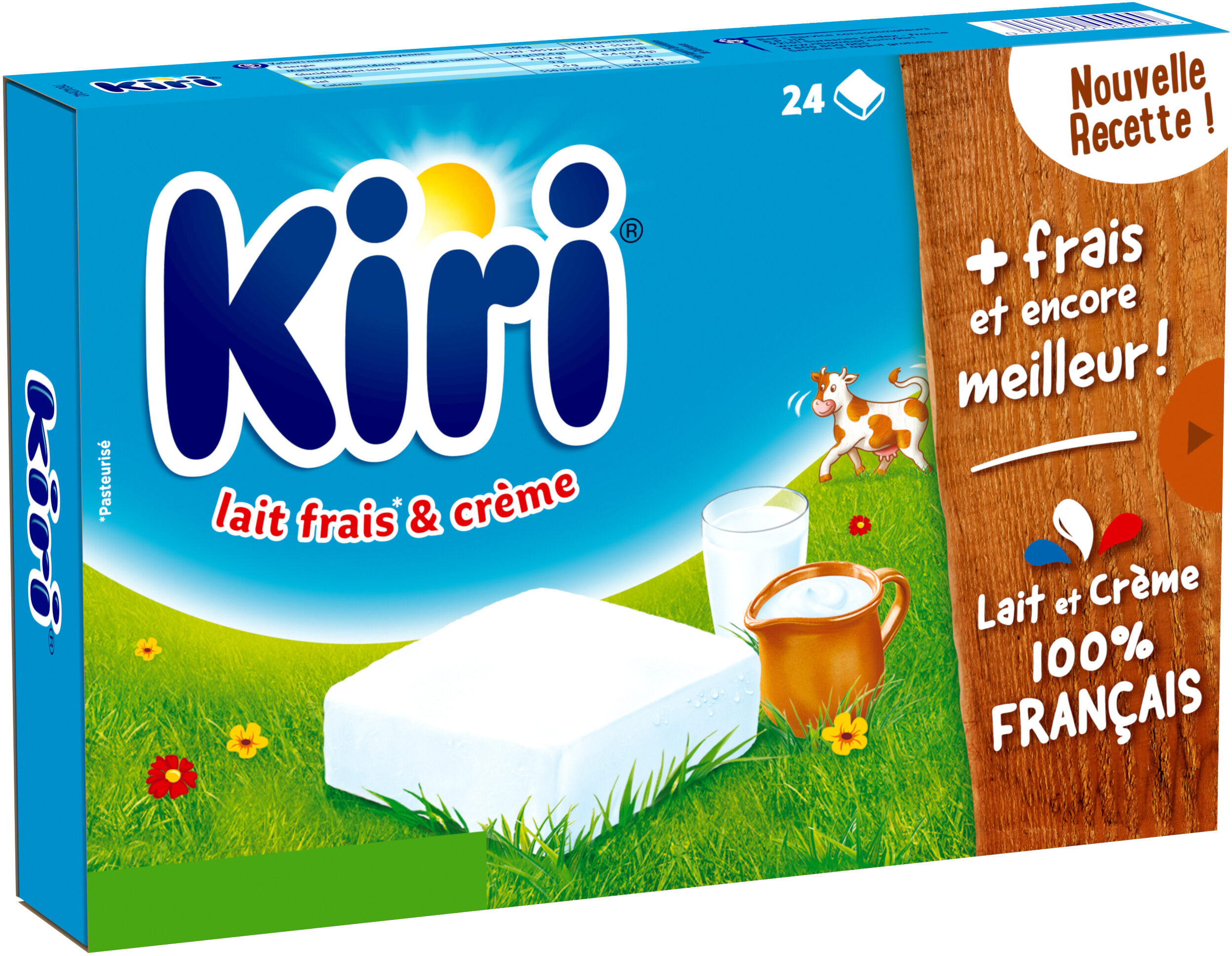Kiri creme - 24p - Produit - fr