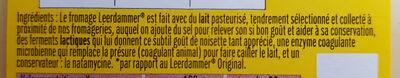 Leerdammer Corsé 6 tranches - Ingrédients - fr