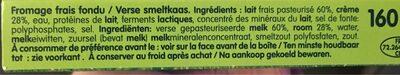 Kiri - Ingrediënten - fr