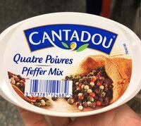 Cantadou quatre poivres - Produkt - fr