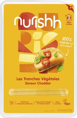 Nurishh - Tranches Végétales saveur Cheddar - Prodotto - fr