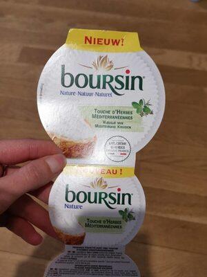 Boursin touche d'herbes méditerranéenne - Prodotto - fr