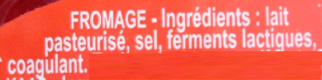 Babybel (27 % MG) - Ingrédients - fr