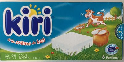 Kiri à la crème de lait (8 Portions) - Product