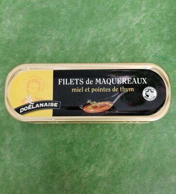 Filets de maquereaux sauce miel et pointes de thym - Product - fr