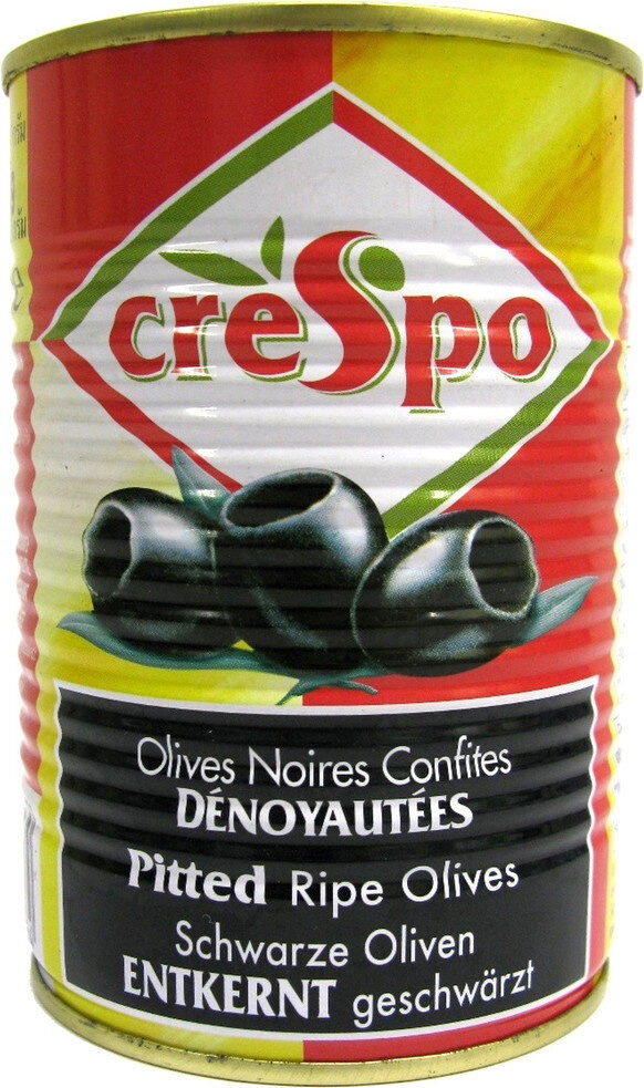 Olives noires dénoyautées - Product - fr