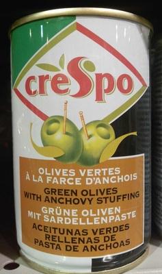 Olives vertes la farce d 39 anchois crespo 300 g for Origine du mot farce