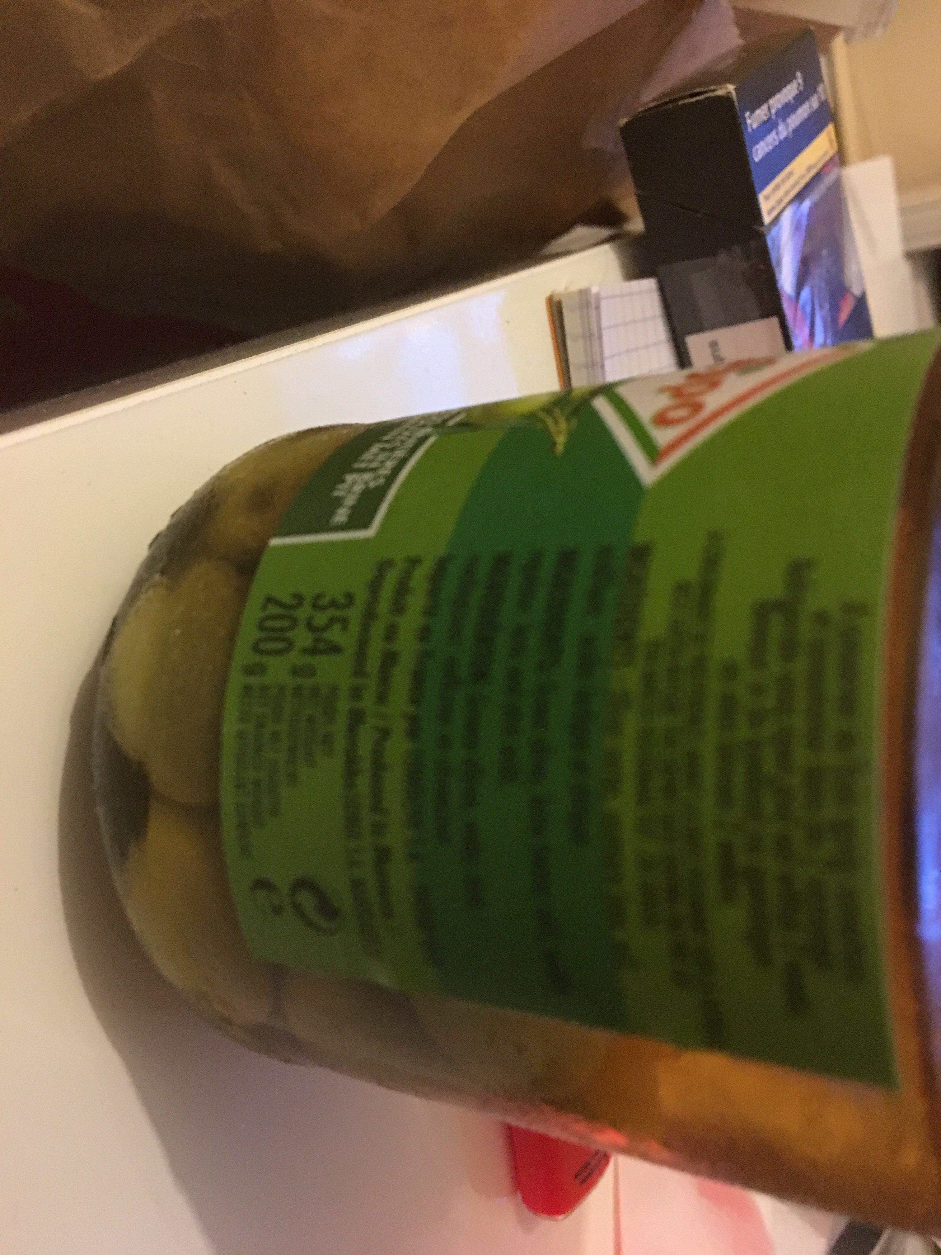 Olives vertes entières - Ingrediënten