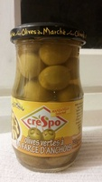 Olives Vertes à la farce d'anchois - Product - fr