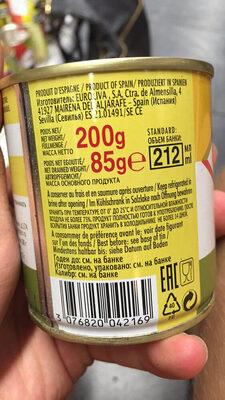Olives Vertes A La Farce De Citron - Product