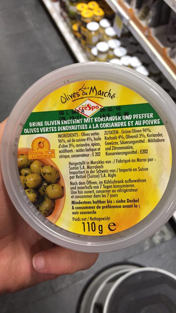 Les Olives du Marché - Product