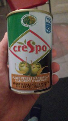 Olives Vertes Manzanilla Crespo - Product - fr