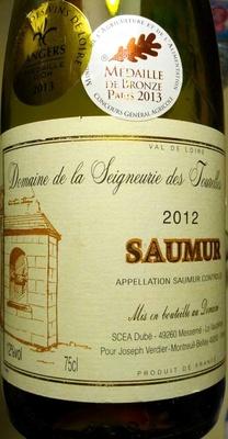 Saumur 2012 - Producto