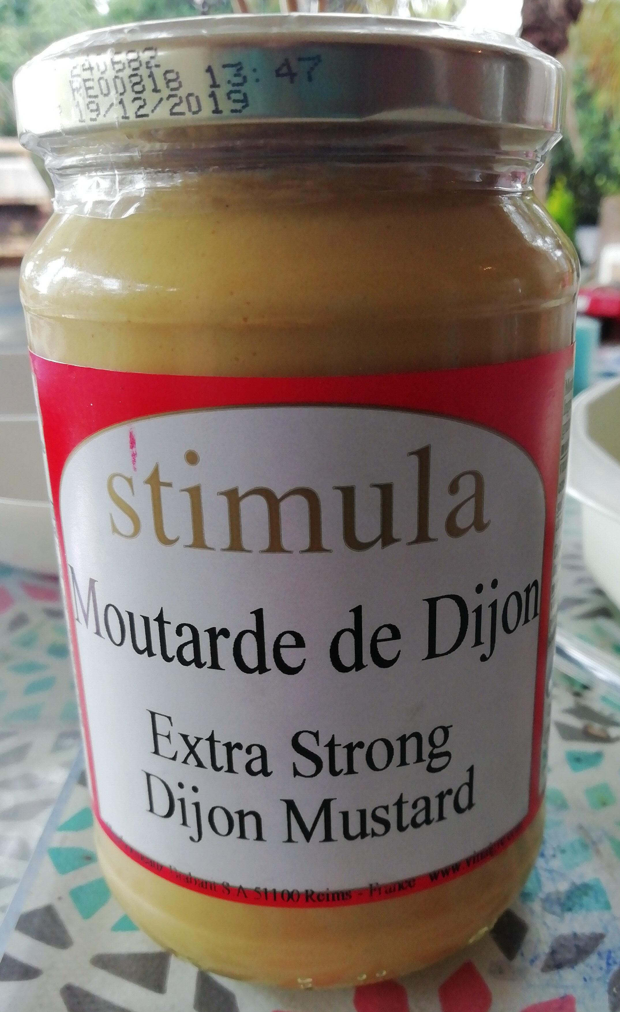 moutarde de Dijon extra-forte de stimula - Продукт - fr