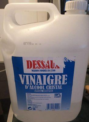 Vinaigre d'alcool cristal - Product - fr