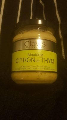 moutarde citron et thym - Product