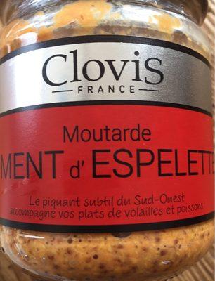 Moutarde Clovis au piment d'espelette - Product