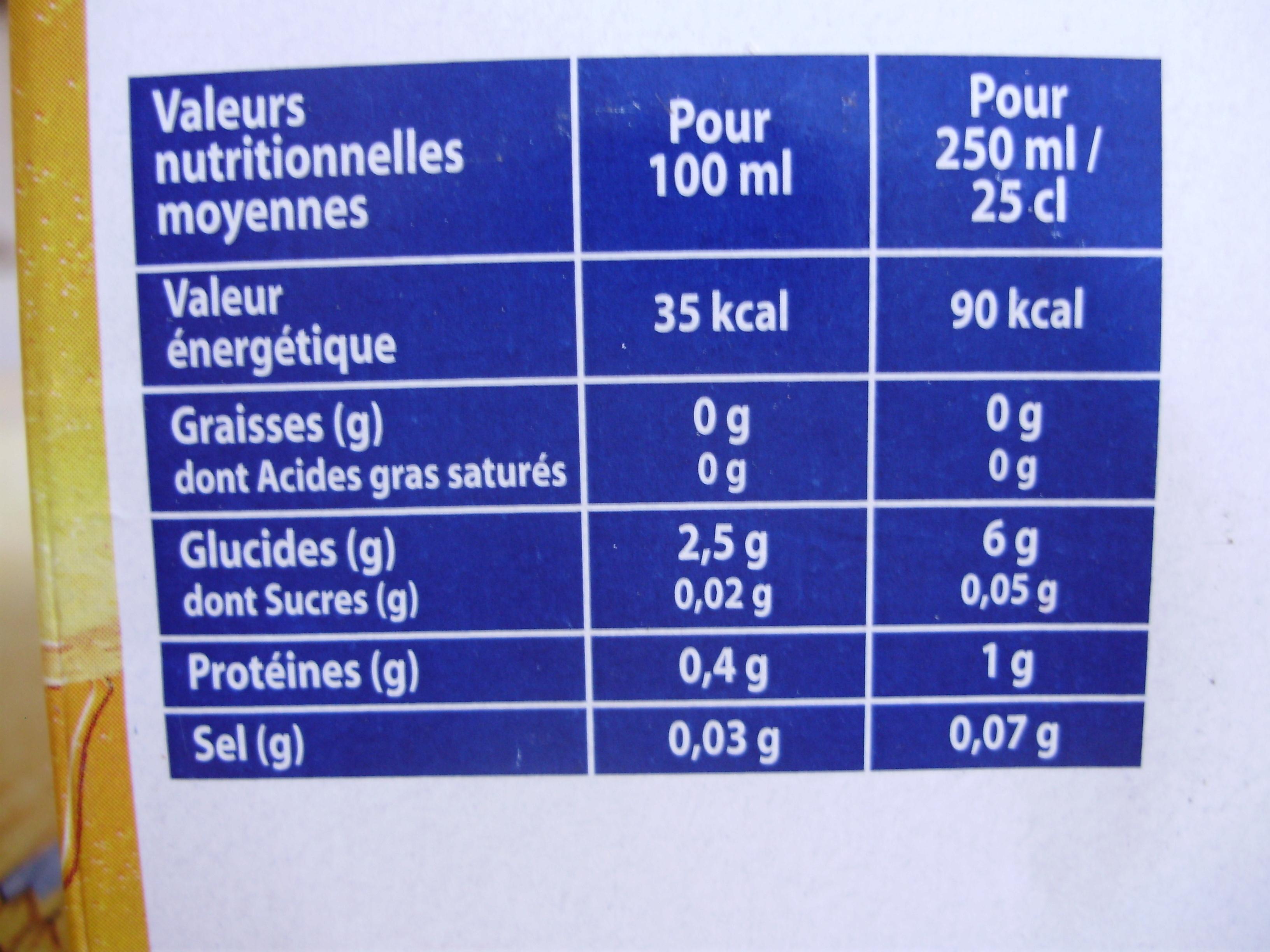 Kronenbourg - Nutrition facts - fr