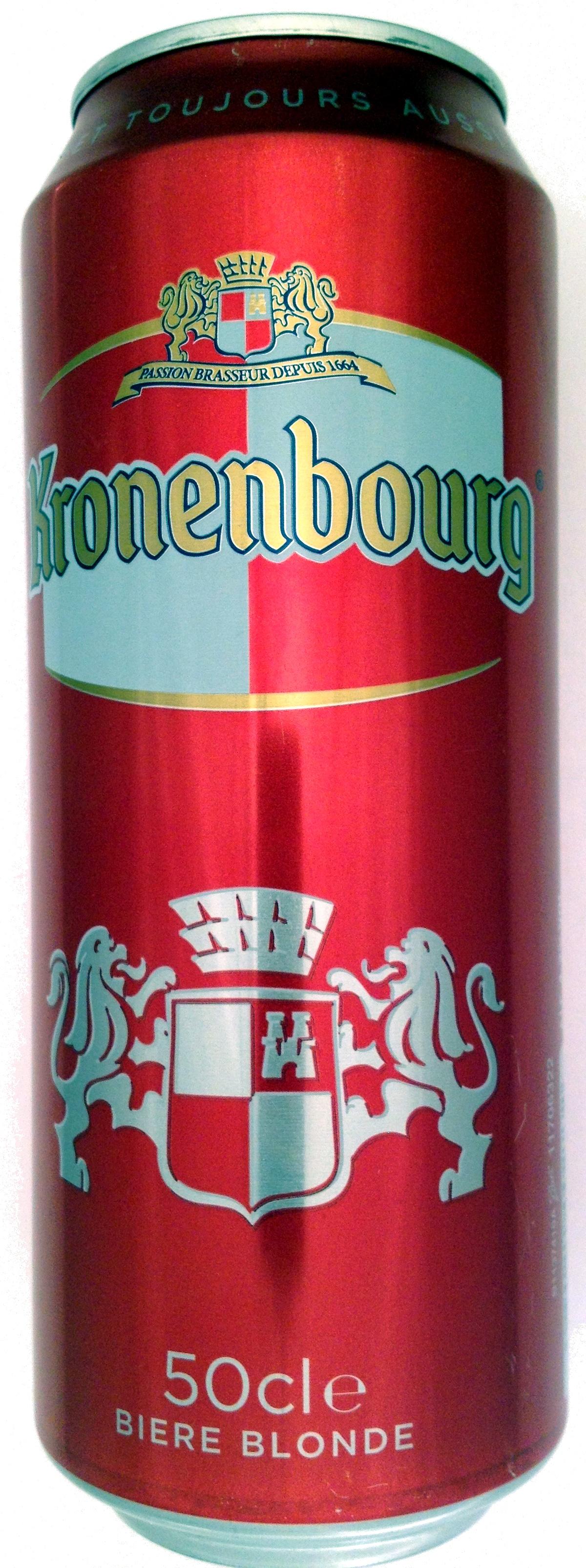 Kronenbourg 50 cl bière blonde - Product - fr