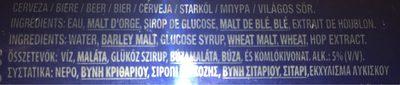 Bte 50Cl Biere 1664, - Informations nutritionnelles - fr