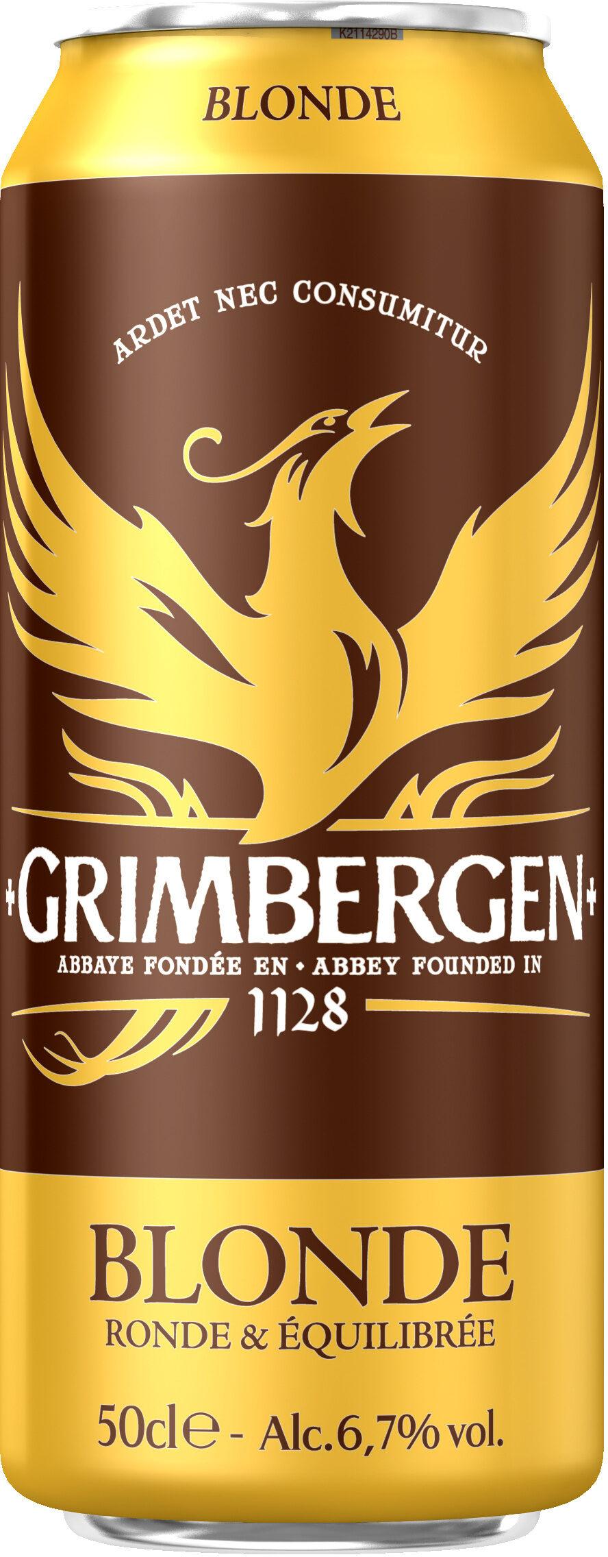 Grimbergen - 50cl bte grimbergen - 6.70 degre alcool - Produit - fr