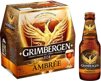 Grimbergen - 6x25cl grimbergen ambree - 6.50 degre alcool - Product - fr
