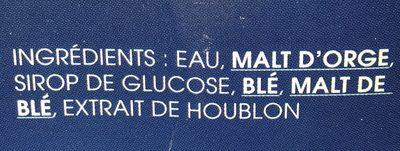 1664 - 20x25cl 1664 - 5.50 degre alcool - Ingredienti - fr