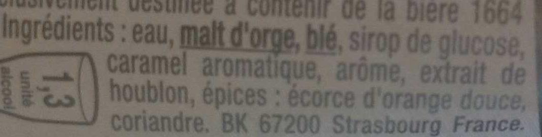 1664 Blanc - Ingrediënten - fr