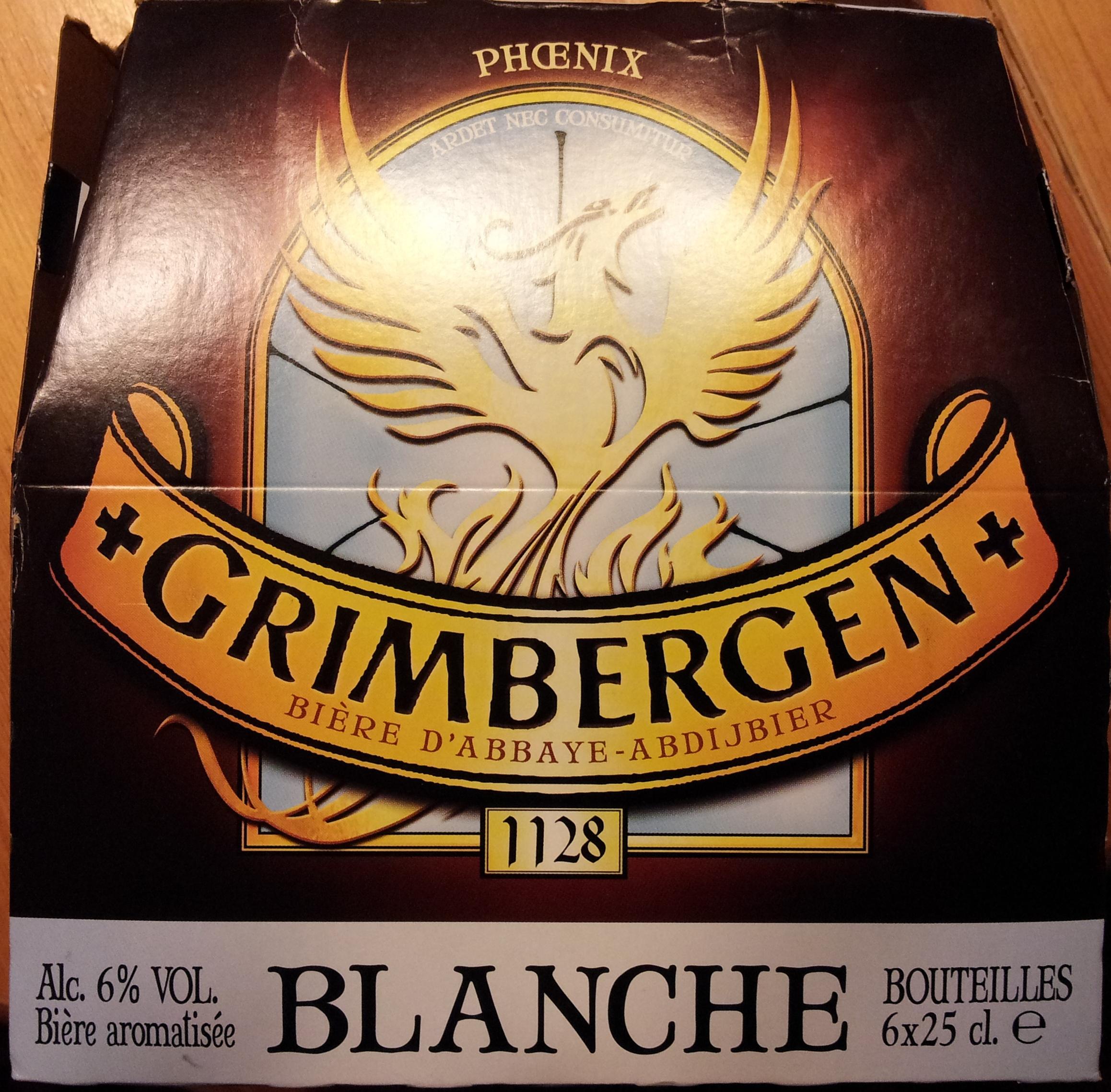 Grimbergen Blanche - Product - fr