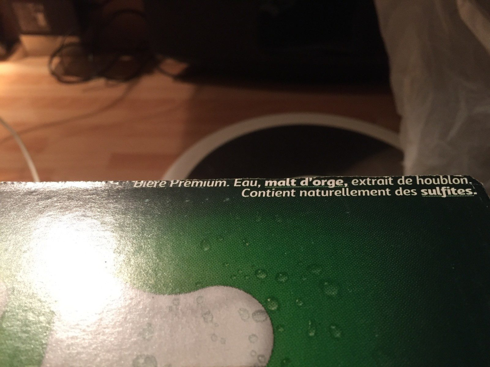 Carlsberg - Ingrédients