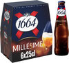 1664 - 6x25cl 1664 millesime 2017 - 6.70 degre alcool - Product