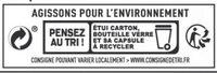 Bière blonde - Instruction de recyclage et/ou informations d'emballage - fr