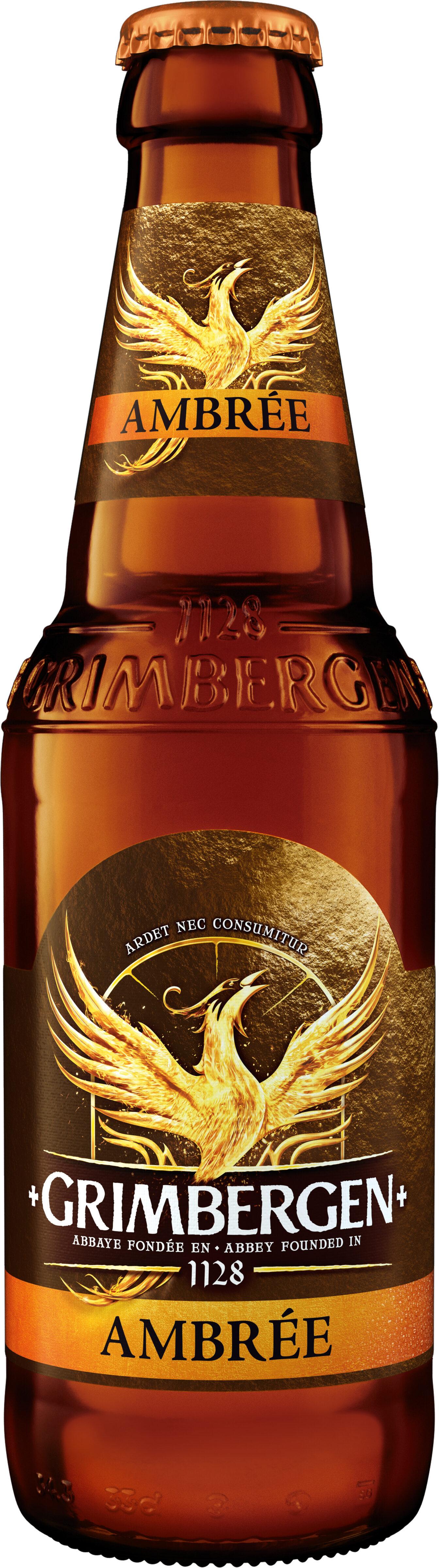 Grimbergen - 33cl grimbergen ambree - 6.50 degre alcool - Producte - fr