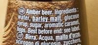 Grimbergen - 33cl grimbergen ambree - 6.50 degre alcool - Ingredients - en