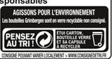 Grimbergen 24X25CL GRIMBERGEN FORMAT SPE 6.7 DEGRE ALCOOL - Istruzioni per il riciclaggio e/o informazioni sull'imballaggio - fr