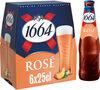 1664 6x25cl 1664 rose 4.5 degre alcool - Produit