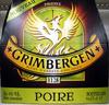 Bière blonde aromatisée poire Grimbergen - Product