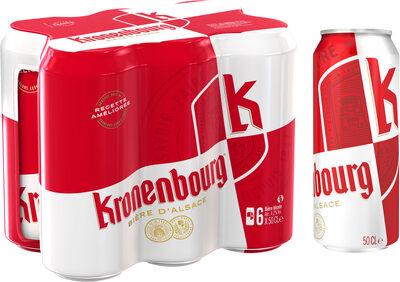 Kronenbourg 6X50CL BOITE KRO 4.2 DEGRE ALCOOL - Prodotto - fr